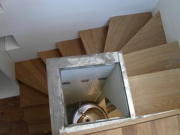 Amibois escalier balanc avec rangements - Rangement sous escalier coulissant ...